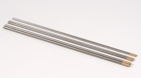 Welding means, tungsten electrode